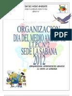 Medio ambiente I.T.P.C.N°2 SEDE LA SABANA 2012
