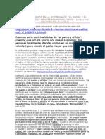 CREDO 4 CREEMOS EN LA DOCTRINA DE ''EL PADRE Y EL HIJO'' SOMOS ''HENOTEISTA MONOLATRAS''. EDITADO POR ALEXANDER GELL