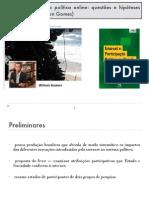 Maia R Et Al 2011 Internet e Participacao Politica