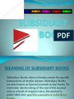 subsidiarybookS PPT