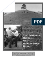 RAFI - Farmer's Guide to Agricultural Credit