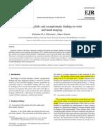 Pfirrmann VariantsPitfallsWristImaging EJR 56 2005