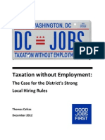 Taxation Without Employment Dec 2012