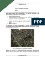 Informe Sub. San Rafael