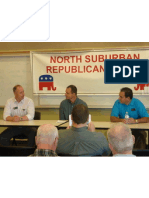 North Suburban Republican Forum December 2012 monthly newsletter