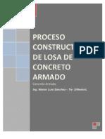 Proceso Constructivo de Losa de Concreto Armado