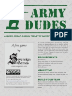 Army Dudes by Sovereign Games