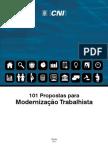 CNI - Propostas de Modernização Trabalhista