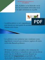 3.1 Plasticos y Polimeros