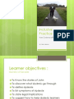 Dyslexia Inclusive Practice
