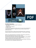 Yoga Swing Installation Instructions