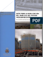 Realización del analisis del riesgo Medioambiental