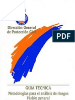Metodología para el análisis de riesgo Visión General