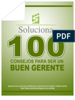 100 Consejos Para Ser Un Buen Gerente