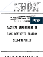24576821 Fm 18 20 Tactical Employment of Tank Destroyer Platoon Self Propelled 1944