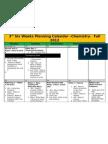 3rd six weeks planning calendar - chemistry - jones