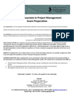SJC - Certified Associate in Project Management Certification Preparation Grant