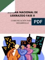 Sistema Nacional de Liderazgo Fase II