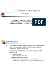 Moving Average Methods
