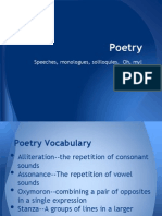 Poetry presentation