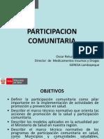 PARTICIPACION COMUNITARIA