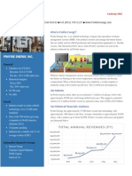 Profire Energy Investor Packet