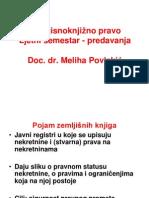 Zemljišnoknjižno pravo - Predavanja i vježbe (prezentacija) (1)