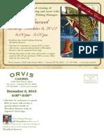 Orvis Carmel Event