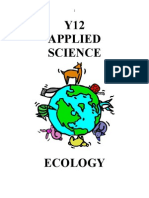 ECOLOGY Student Work BOok
