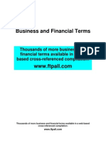 Financial Business Terms