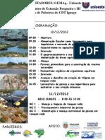 Encontro de Extensão Pesqueira e Ciclo de Palestras do CDT Iguaçu