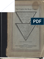 An Exposé of the Imperator of AMORC by Dr. Clymer