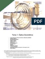 Optica - Tema 1 - Optica Geometrica - 2010-11