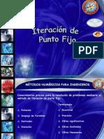 Diapositivas Iteracion de Punto Fijo.