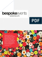 Bespoke Events Presentation