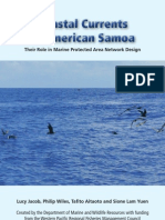 Coastal Currents in American Samoa