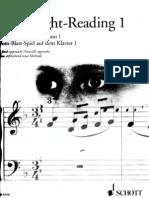 Piano Sight Reading Book 1