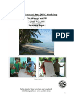 Participatory Learning Action (PLA) Workshop in Manu'a 2011