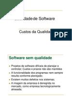 Qualidade de Software_Custo Da Qualidade