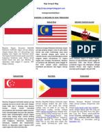 Bendera 11 Negara Di Asia Tenggara