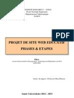 Projet Web Chap1