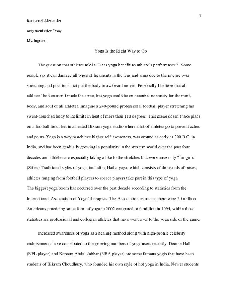 essay on yogasana