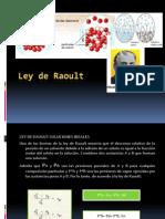 LEY DE RAOULT.................