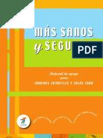 Manual - Mas Sanos Mas Seguros. Material de Apoyo Para Jardines Infantiles y Salas Cuna (Fundacion Integra)