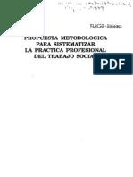 4. Propuesta Metodológica