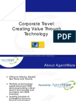 Corporate Travel-Creating Value Through Technology