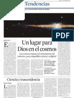 Un Lugar Para Dios en El Universo y Hawking