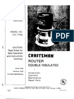 Craftsman Router 315.17492