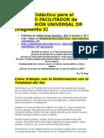 Reconexion Universal Dr