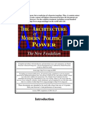 The Architecture of Modern Political Power | United States